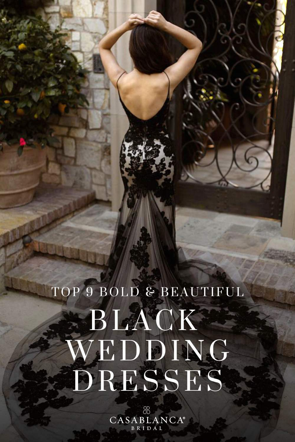 20 Bold Black Wedding Dresses For Your Non Traditional Wedding Day ...