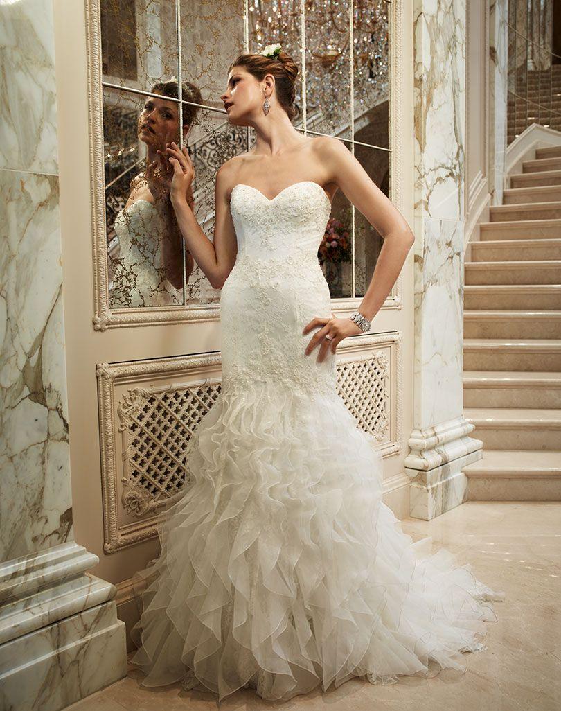Style 2096 casablanca bridal for Casablanca lace wedding dress