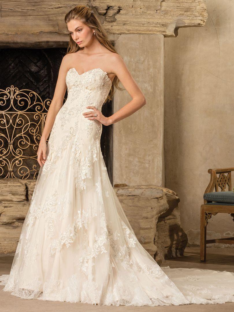 Style 2291 Everly   Casablanca Bridal