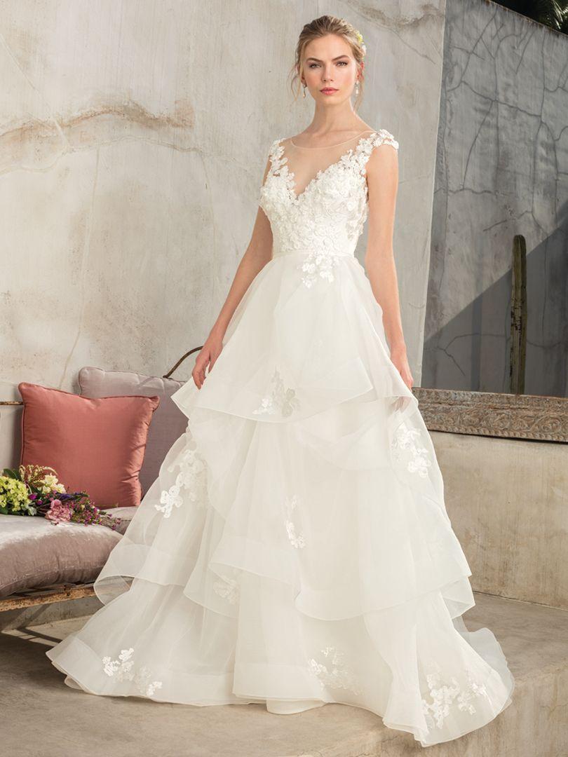 Style 2302 Luna | Casablanca Bridal